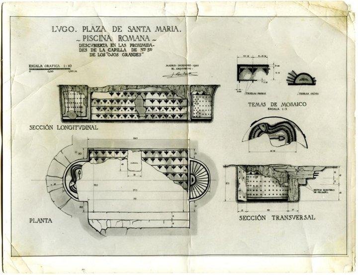 Resultado de imagen de piscina romana lugo