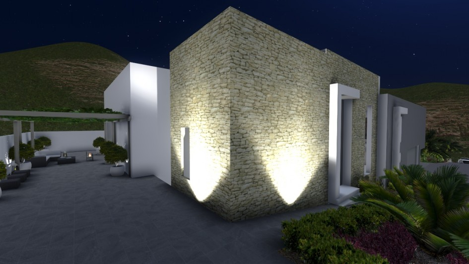 Da un toque de luz al jard n y disfruta tu piscina a la Iluminacion decorativa para exteriores